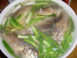 Cháo cá diếc hỗ trợ điều trị viêm đại tràng mãn tính